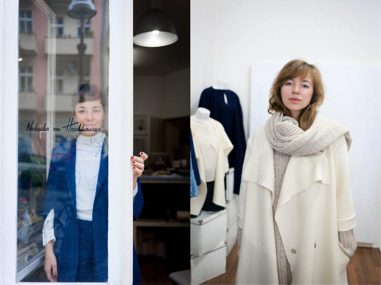 Natascha von Hirschhausen – Ethical fashion made in Berlin Wedding