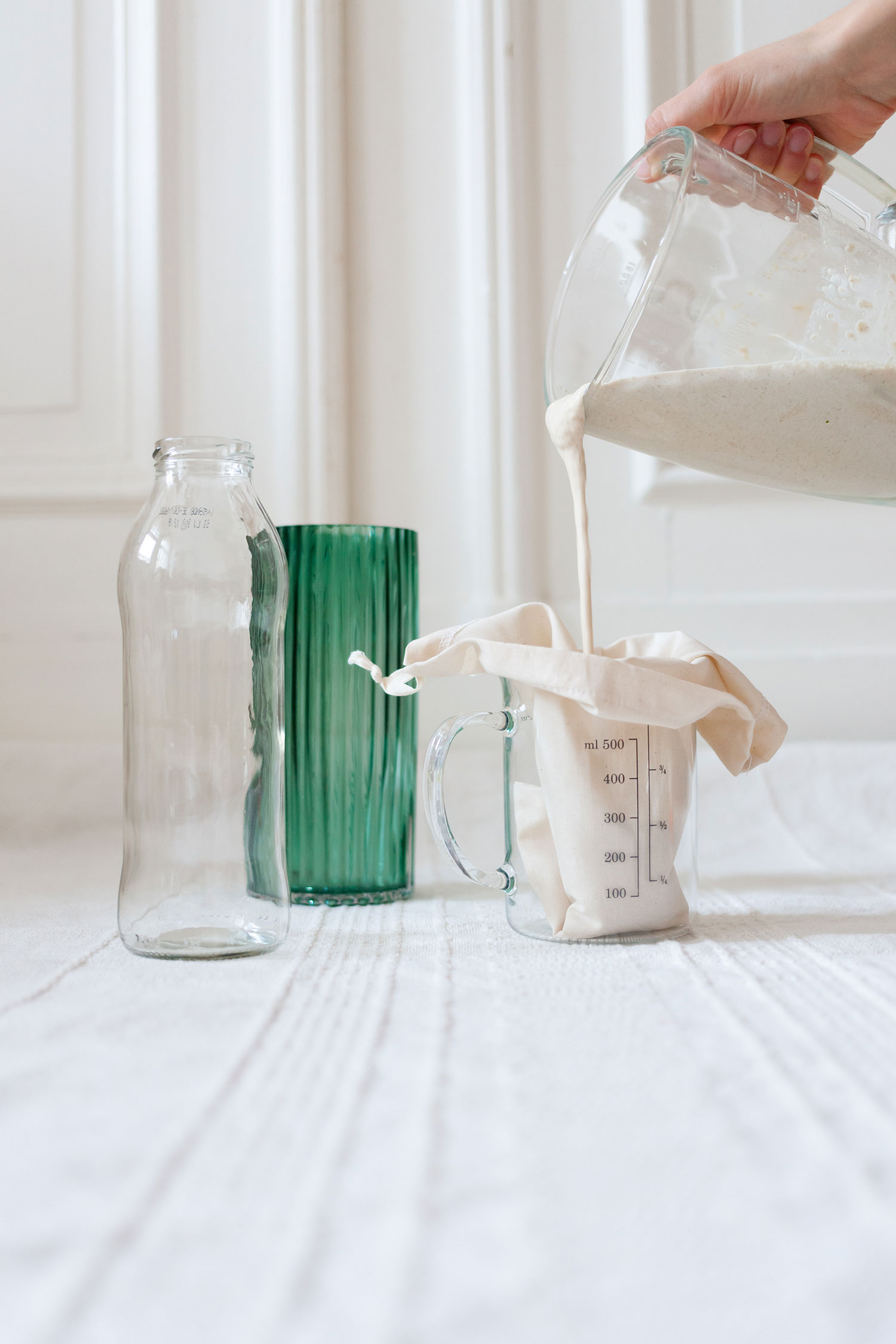 Zero Waste Pflanzenmilch Rezept - Plantmilk Recipe